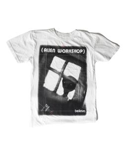ALIEN WORKSHOP VISITOR WHITE T-SHIRT