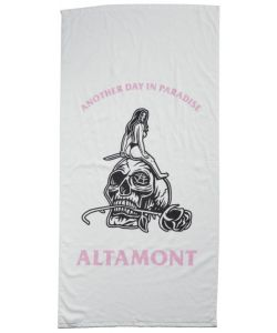 Altamont Another Day White Beach Towel