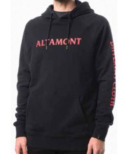Altamont Cfadc Pullover Black Men's Hoodie