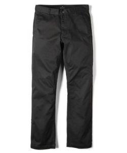 Altamont Davis Straight Chino Black Αντρικό Παντελόνι