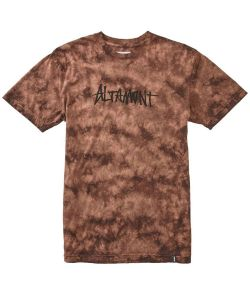 ALTAMONT ONE LINER WASH ORANGE T-SHIRT