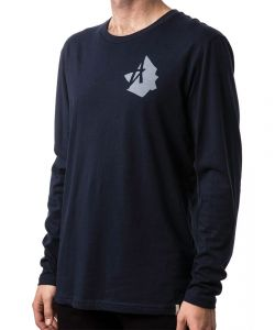 Altamont Shadow Midnight Men's Long Sleeve T-Shirt