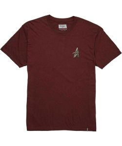 Altamont Tentacle A Burgundy Men's T-Shirt