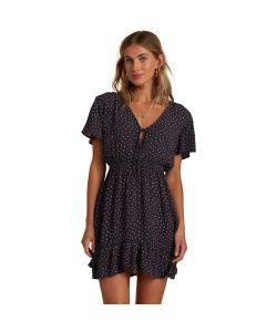 Billabong Day Trippin Off Black Γυναικείο Φόρεμα