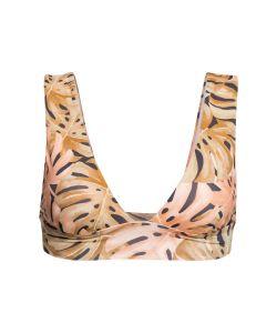 Billabong Hula Palm Plunge Multi Bikini Top