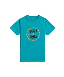 Billabong Octo Boy Teal Παδικό Surf T-Shirt