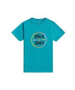 Billabong Octo Boy Teal Kid's Surf T-Shirt