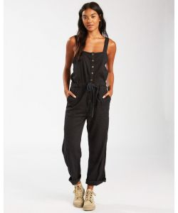 Billabong Sandy Shores Black Women's Overall