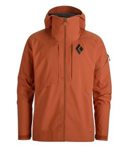 BLACK DIAMOND MISSION SHELL RUST SNOW JACKET