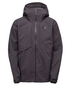 BLACK DIAMOND MISSION SHELL SMOKE SNOW JACKET