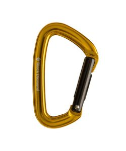 BLACK DIAMOND POSITRON STRAIGHT GATE CARABINER YELLOW