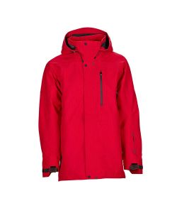 Bonfire Aspect 3l Stretch  Red Men's Snow Jacket