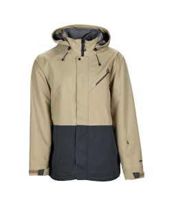 Bonfire Ether Khaki/ Black Men's Snow Jacket
