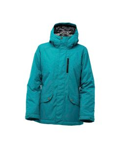 Bonfire Jasper Lake Blue Women's Snow Jacket