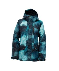 Bonfire Jasper Stormy Print Women's Snow Jacket