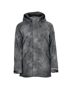Bonfire Static Charcoal Maple Men's Snow Jacket