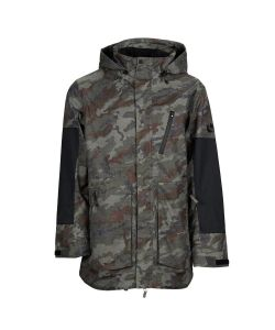 Bonfire Strata  Insulated Olive Camo/ Black Men's Snow Jacket