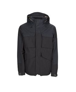 BONFIRE STRUCTURE INSULATED BLACK SNOW JACKET