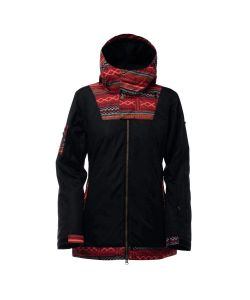 Bonfire Topaz Black Women's Snow Jacket