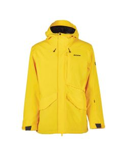 Bonfire Vector Shell Yellow Men's Snow Jacket