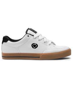 C1rca AL50 Slim White Black Gum Men's Shoes