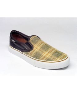 C1rca AL50 Slips Dark Chocolate Tan Plaid Ανδρικά Παπούτσια