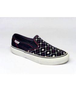 C1rca Alw50 Slips Black Preppy Punk Γυναικεία Παπούτσια