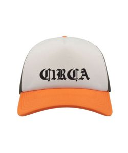 C1rca Ancient Trucker Mesh White Orange Black