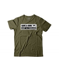 C1rca Cow Military Green Men's T-Shirt
