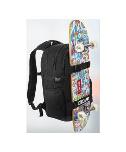 C1RCA DIN ICON BACK BLACK BACKPACK