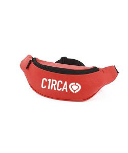 C1rca Din Icon Waist Bag Red Τσαντάκι Μέσης