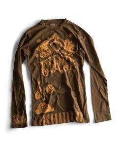 C1rca Henna Duece L/S Earth Women's Long Sleeve T-Shirt