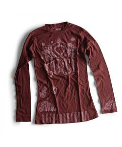 C1rca Henna Duece L/S Plum Women's Long Sleeve T-Shirt