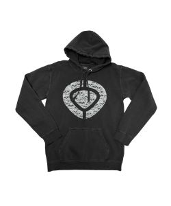 C1rca Icon Skull Black Men's Hoodie