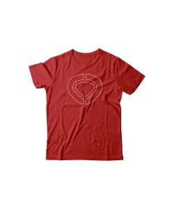 C1rca Icon Track Red Αντρικό T-Shirt