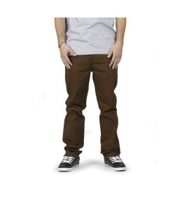 C1rca Lopez Impala Slim Brown Men's Pants