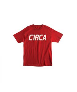 C1RCA MAINLINE FONT RED YOUTH T-SHIRT