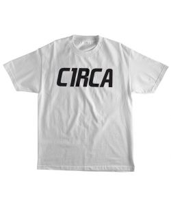 C1RCA MAINLINE FONT WHITE YOUTH T-SHIRT