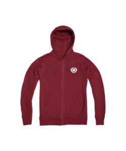 C1rca Mini Icon Brick Red Men's Zip Hood