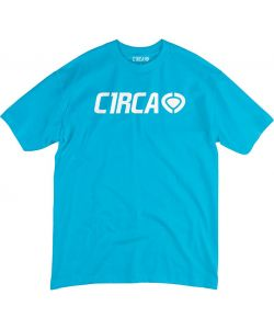 C1RCA NEW CORP LOGO TURQUOISE KIDS T-SHIRT