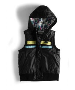C1rca No Future Black Women's Vest