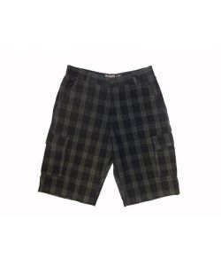 C1rca Plaid Grey Men's Short