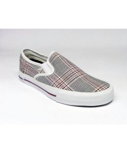 C1rca Select Slip White Tart Plaid Women's Shoes