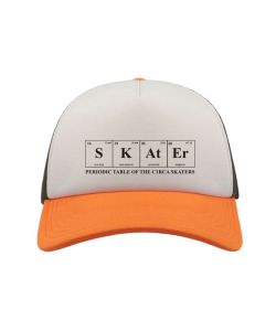 C1rca Skater Trucker Mesh White Orange Black Καπέλο