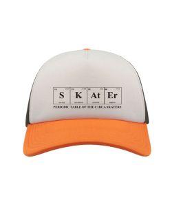 C1rca Skater Trucker Mesh White Orange Black Καπέλο