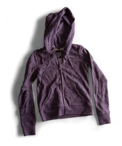 C1rca Skull Heather Purple Women's Zip Hood