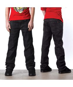 C1RCA STAPLE STAIGHT BLACK/RINSE YOUTH PANTS