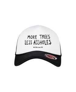 C1rca Trees Flexfit Black White Black Hat