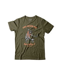 C1rca You Never Die Military Green Ανδρικό T-shirt