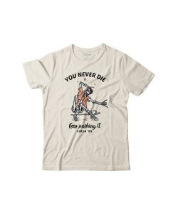 C1rca You Never Die Off White Ανδρικό T-shirt